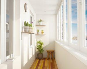 Ремонт и остекление балкона