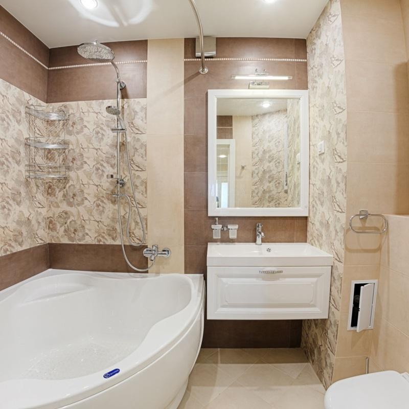 Ремонт ванны и туалета под ключ в Москве